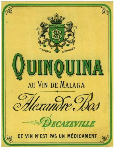 Bos Alexandre Etiquette Quinquina