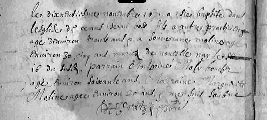 1671 Bapteme Jean Bos