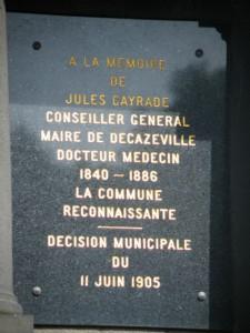 Decazeville Tombeau Cayrade8jpg