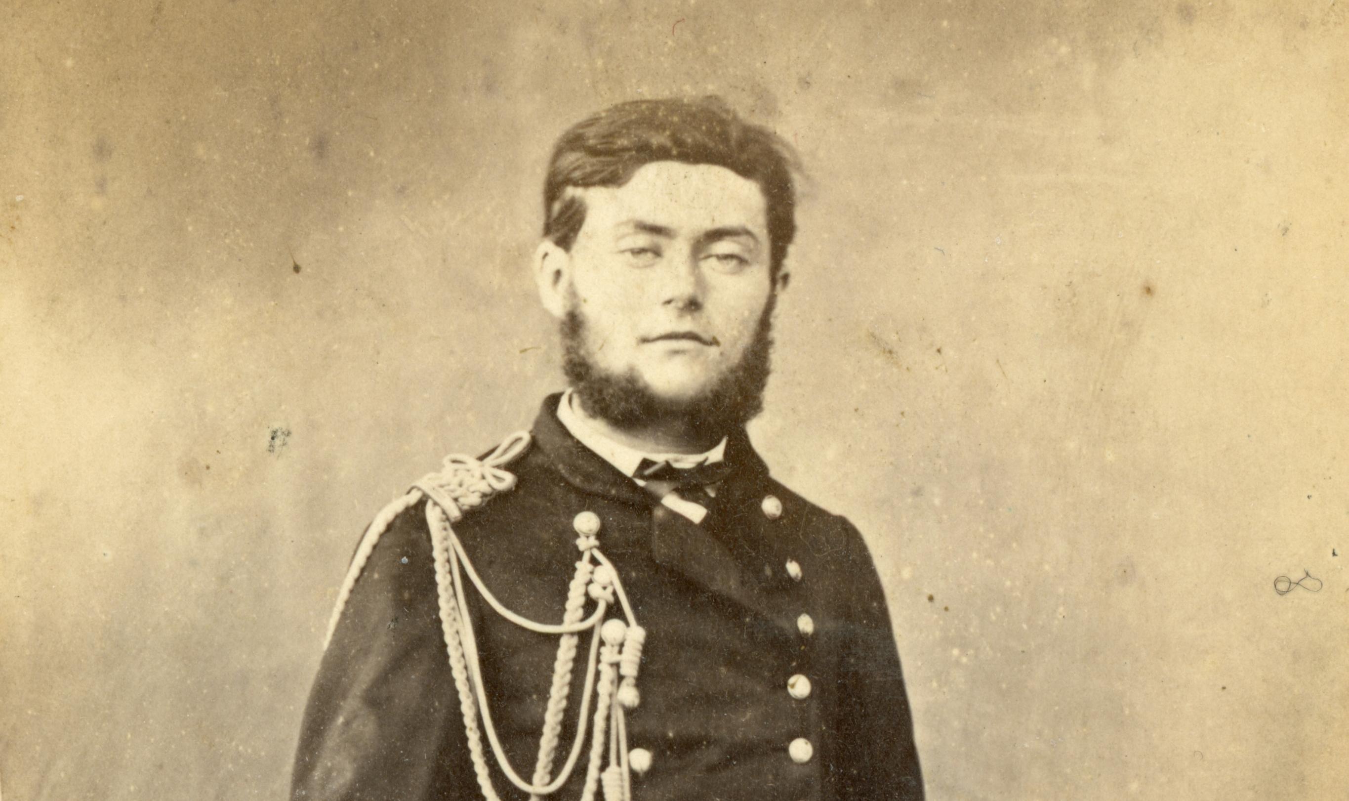 Charles Caussé, commandant «l'Amiral Charner»